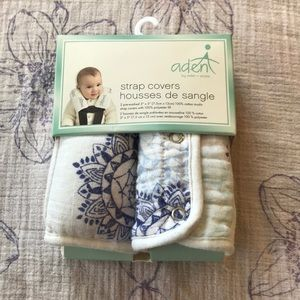 Aden strap covers. NWT.